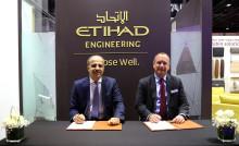 ETIHAD AIRWAYS ENGINEERING AND SATAIR SIGN MEMORANDUM OF UNDERSTANDING AT MRO MIDDLE EAST