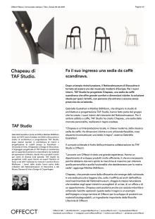 Offecct Press release Chapeau by TAF Studio_IT