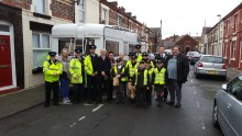 Officers carry out 'impact day' in Walton together with partners following burglaries