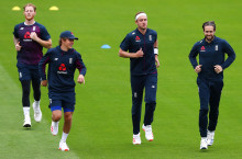 England Training Footage & Virtual Press Conference Chris Woakes