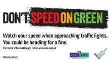 ​New cameras given the go ahead to detect 'Speed on Green' for speed awareness month