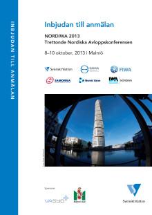 Inbjudan till anmälning – NORDIWA 2013