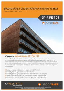 Faktablad Exterior FireX Cederträspån SP-Fire 105