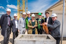 Freiburger BUSINESSMILE wächst zügig weiter: STRABAG Real Estate legt Grundstein für JobRad-Firmenzentrale