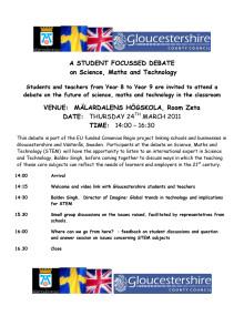 Program för videokonferens 24 mars på Mdh