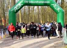 197 glückliche Sportler beim 5. Rostocker Winterlauf