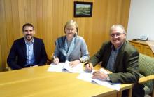 Partner bei der Stromversorgung: Hohenwart und das Bayernwerk verlängern Konzessionsvertrag um weitere 20 Jahre