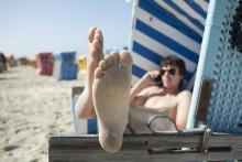 Nordmenn går mann av huse etter mobiltelefoner i juli