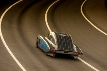 En route to the World Solar Challenge