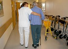 Kraftig minskning av fallskador inom geriatriken på Akademiska