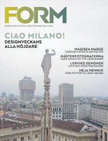 Nya numret av Form: Milano-special