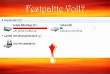Festplatte ist grundlos in Windows 10/8/7 voll? Dies sind die Lösungen!