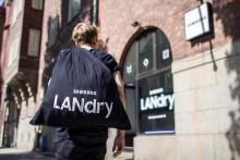 Verdens første gaming-vaskeri – hvor skittentøy blir til timer med spill