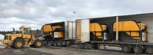 Leveranser av 5 st Norditek vindsiktar och 2 st sorteringsverk till en enskild arbetsplats  i Sverige