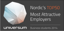 Scandic a dream workplace among Nordic students