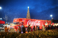 The Coca-Cola truck is coming to town...