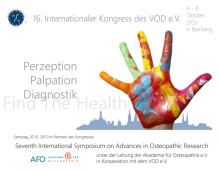16. Internationaler Osteopathie-Kongress in Bamberg
