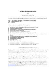 Notice AGM 2013