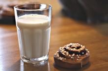 Findus kanelbullar serveras på Mjölkens Dag i Stockholm