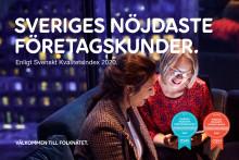 Telia och Halebop fortsätter att försvara toppositionen – nöjdast mobilkunder enligt SKI