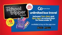 Get set to safely and affordably return to school by bus with new school tickets and extra buses from Go North East
