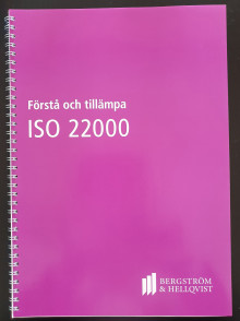 Nya handboken Förstå och tillämpa ISO 22000 är här!