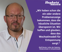 """Leiter der Hephata-Förderschulen: """"Wir hoffen, dass das Wechselmodell für Entspannung sorgt"""""""
