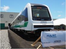日立が米国ハワイ州ホノルル向け車両の第一編成を公開 -米国初となる自動運転鉄道システムのプロジェクトが順調に進捗