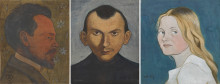 Acquisition of portraits created by Ivar Arosenius to the collections of Nationalmuseum