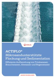 ACTIFLO® Mikrosandunterstützte Flockung und Sedimentation