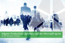 Allgeier Productivity Solutions spricht auf der Microsoft Ignite