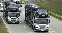 Försäljningen av begagnade personbilar minskade något i mars