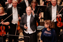 Malmö SymfoniOrkesters chefsdirigent tackar för sina åtta år med en galakonsert