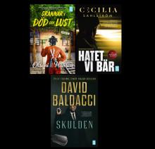 Städdag med dödlig utgång, terapeut misstänkt för mord och Baldacci i efterkrigstiden – pocketnyheter!
