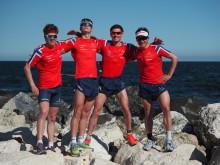 Fire norske eliteutøvere vil stå på startstreken i verdensserieløpet i Bermuda lørdag 28. april
