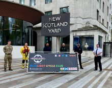 UK's first cycling club for emergency service workers launched