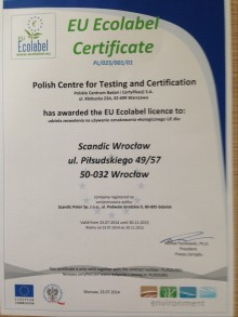 Scandic first hotel chain with EU Ecolabel certified hotels in Poland