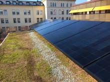 Sommarens mötesplats och showroom på tak i Stockholm