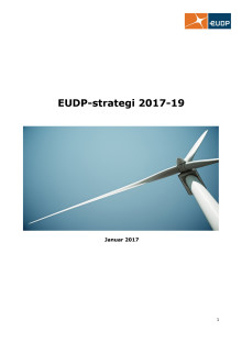 EUDP-strategi 2017-19