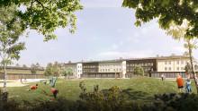 Pressinbjudan: Välkommen på spadtag för nya Färjestadsskolan
