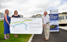 Happy campers in Whitehill following Rural Development grant
