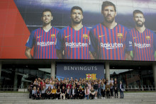 Dream trip to Nou Camp thanks to Santander