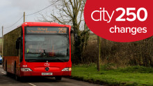 city250 operator changes after 4th July 2020