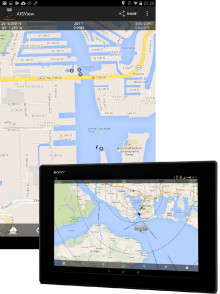 Digital Yacht develop AISView app for Android devices