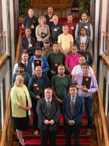Taxi drivers helping to keep Bury safe