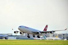 Changi Airport welcomes the return of SWISS