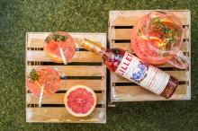 So extravagant wird der Sommer: Die neuen Lillet Sommerpunsch-Rezepte