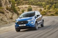 Kompaktní SUV EcoSport posílí nabídku Fordu na českém trhu