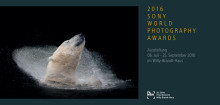 Einladung Sony World Photography Awards Ausstellung 2016