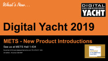 Digital Yacht introduce new AIS, NMEA 2000 Gateway and wireless products at METS 2018